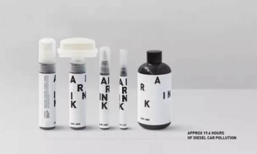 AIR-INK:看得见的空气污染
