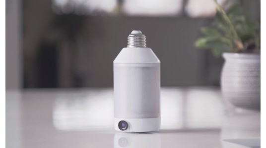 兼具摄像头功能的创意灯泡