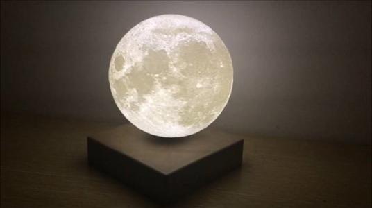 可以悬浮在空中的创意月亮