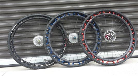 ERW —— 新型复合材料轮胎,告别爆胎烦恼