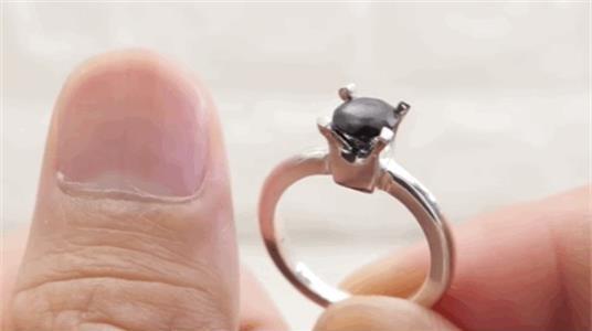 用指甲diy的戒指,这波创意你能接受吗?