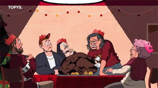 """肯德基的""""恐怖""""片陪你迎圣诞节"""